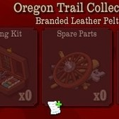 FrontierVille Oregon Trail Collection: Help the McBaggins family to receive Leather Pelt