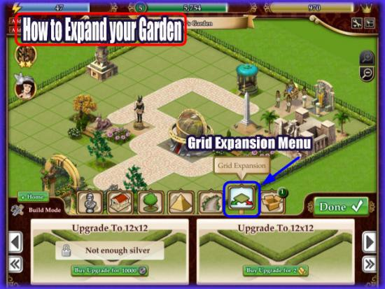 Playdom Gardens of Time Expansion