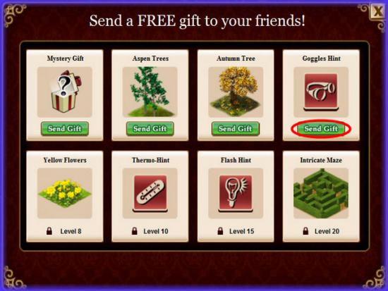 Playdom Gardens of Time Free Gifts