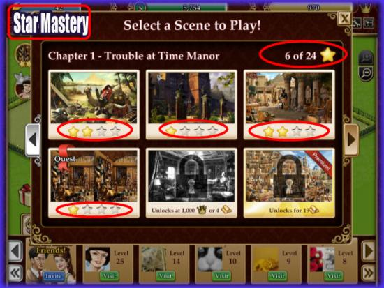 Playdom Gardens of Time Star Mastery