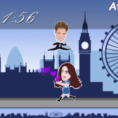 Nickelodeon runs to the Royal Wedding with new Flash game