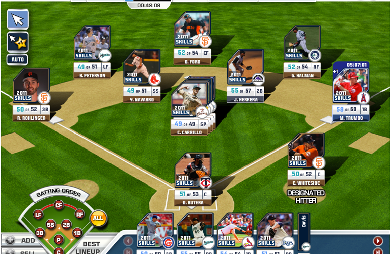 World Series team page