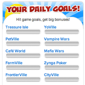 Zynga's RewardVille tests your dedication with Daily Goals