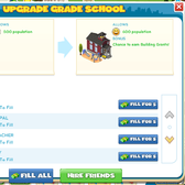CityVille Upgrade your Grade School: Everything you need to