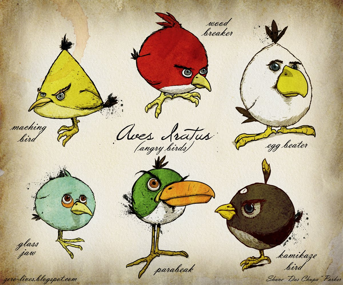 Angry Birds Darwin Style