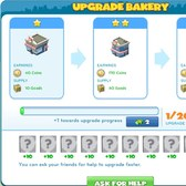 CityVille Bakery Upgrades: Everyt