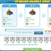CityVille: Upgrade your Noodle Shop, or buy one if you haven't already