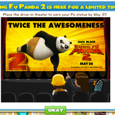 Kung Fu Panda 2 belly flops into CityVille with in-game promotion