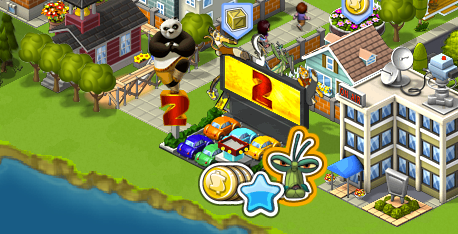 cityvillekungfu2 Kung Fu Panda 2 belly flops into CityVille with in game promotion