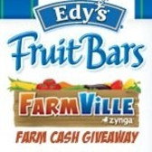 Edy's Fruit Bars to partner with Zynga's FarmVille in 500,000 Farm Cash giveaway