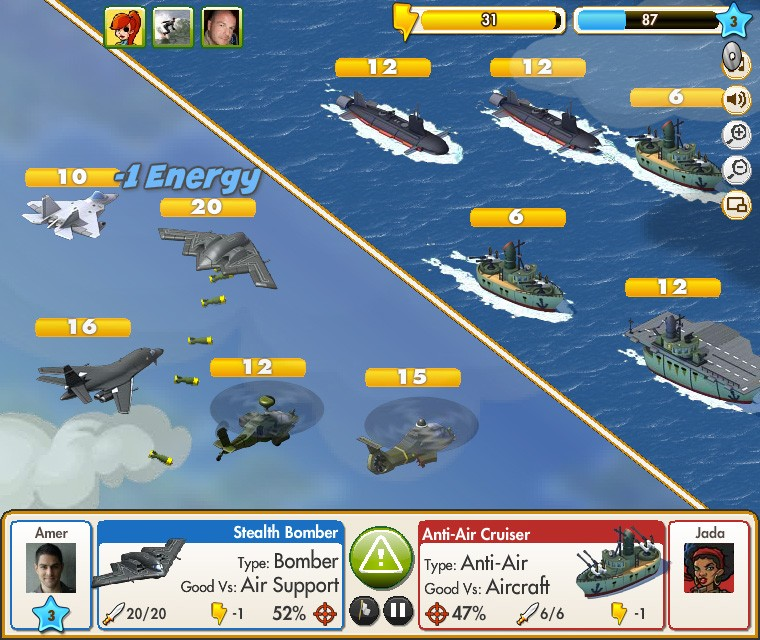 Empires and Allies Air Battle