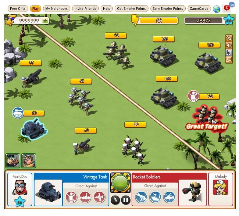 Empires and Allies Land Battle