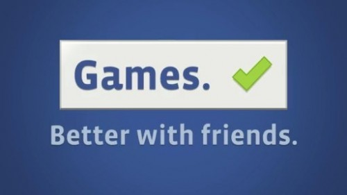 Facebook Games better with friends