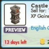 FarmVille English Countryside Buildings: Castle Tower and Knight's Store