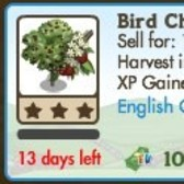 FarmVille LE English Countryside Trees: Wild Cherry and Bird Cherry Trees