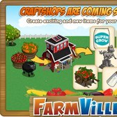 FarmVille Sneak Peek: Turn Bushels into new items via Craftshops