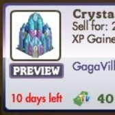 FarmVille GagaVille Decorations: Crystal Castle, Glitter, Fame Gnome and more