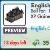 FarmVille LE English Countryside Decorations: English Hotel, Detective Gnome, Tower Bridge & More