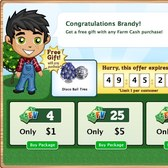 FarmVille: Earn a free Disco Ball Tree with Farm Cash purchase