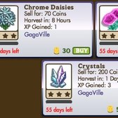 FarmVille: GagaVille Crops and crafting jobs now available