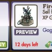 FarmVille Store Update: Fire Fountain, Electric Chapel, Masked Ram now available