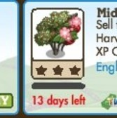 FarmVille English Countryside Trees: Hawthorn Tree & Midland Hawthorn
