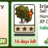FarmVille Irish Trees: Chinese Strawberry & Irish Strawberry trees