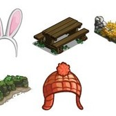 FarmVille Sneak Peek: White Knight Gnome, Bunny Head Band, Irish Picnic Table and more