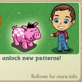 FarmVille: Breed or adopt pigs to receive points and unlock new patterns