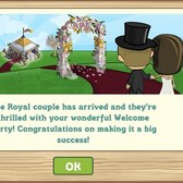 FarmVille Royal Wedding Tent: Throw the final party and