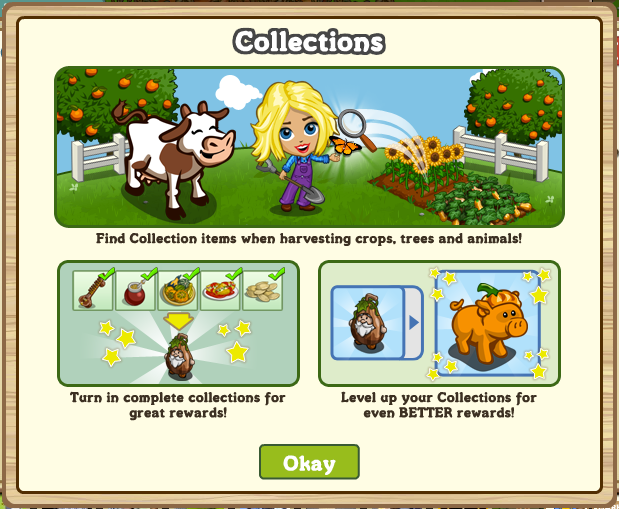 FarmVille Collection How-To