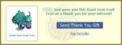 FarmVille Gem Fruit Tree share