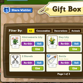 Zynga improves FarmVille Gift Box once again with new categories