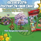 FarmVille Mother's Day Special: Farm Cash 20 percent off this weekend