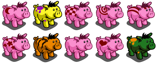 FarmVille Pig Breeding patterns