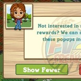 FarmVille will now show fewer pop-ups, if you say so