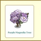 FarmVille: Purple Magnolia Trees grow from Mystery Seedlings