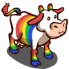 Rainbow Cow