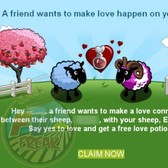 FarmVille: Accept Sheep Breeding requests from friends via email soon