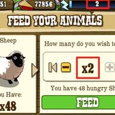 FrontierVille: Zynga changes energy drops and limits feeding in Livestock Pens