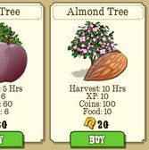 FrontierVille: Plum, Raspberry, and Almond Trees available with new collections