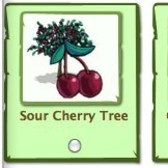 FrontierVille: Send Sour Cherry, Green Apple and White Peach Trees to friends