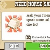 FrontierVille: Zynga enables quick posting of item requests to save you time