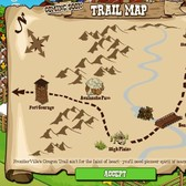 FrontierVille Oregon Trail Map revealed; looks easy enough, right?