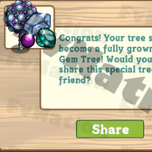 FarmVille: GagaVille Gem Trees now appearing from Mystery Seedlings