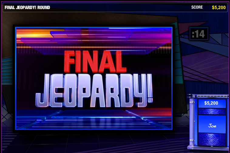 Jeopardy Facebook