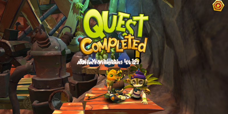 Monkey Quest complete