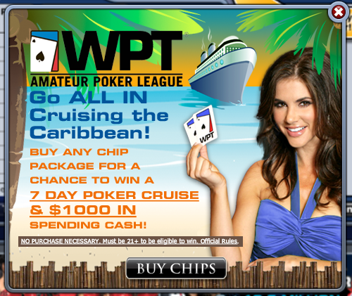 WPT Amateur Poker League Cruise