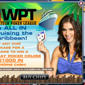 WPT Texas Hold 'Em Poker offers Facebook players $1K and a cruise