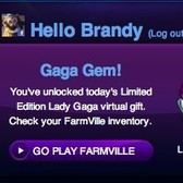 FarmVille GagaVille: First 102.7 KIIS FM prize now available